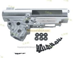 SHS 7075 CNC Aluminum 9mm Ver.3 gearbox with 6 bearings